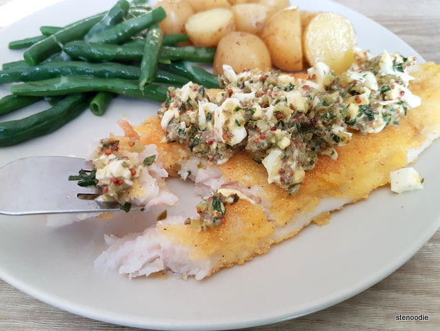 Crispy Fish & Sauce Gribiche