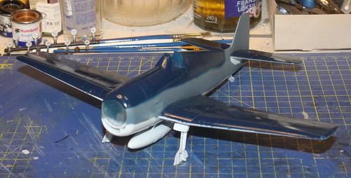 """Grumman F6F-3 Hellcat, """"Vit 19 Vraciu"""", Eduard 1/48 - Sida 2 37104686594_46e6bbf039"""