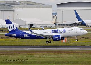 F-WWIN Airbus A320 Go Air