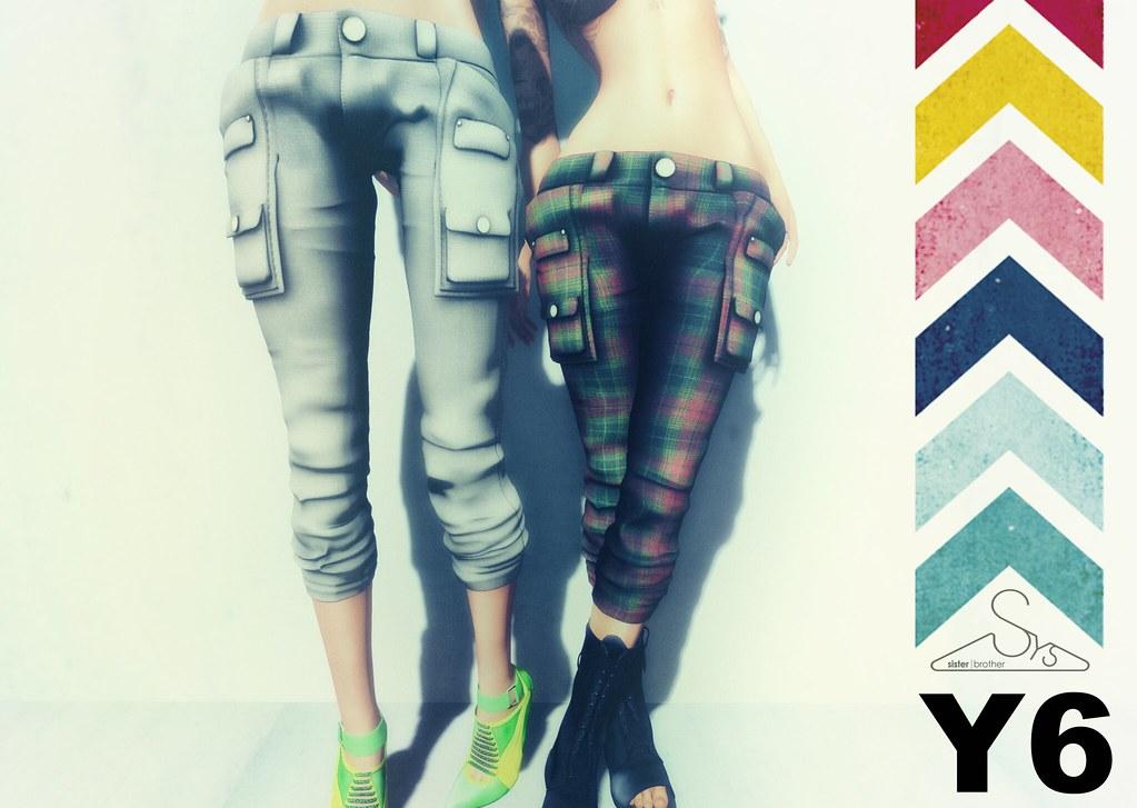 [sYs] Y6 pants