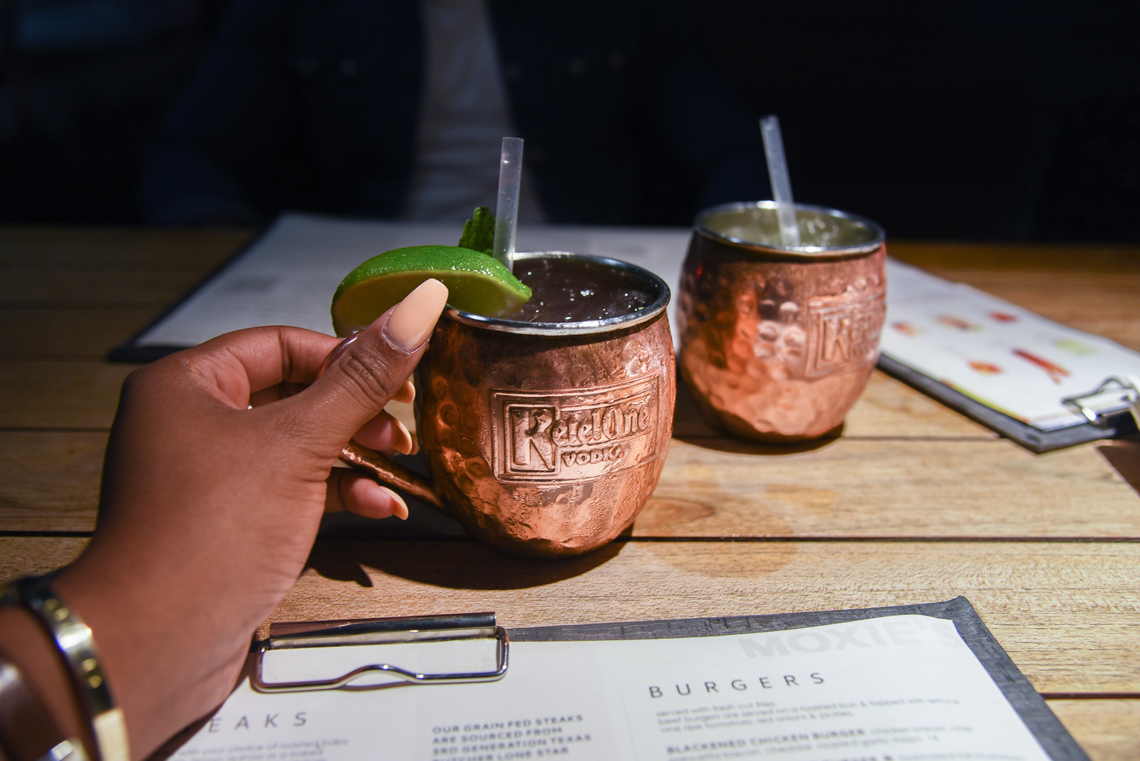 Moscow Mule toast