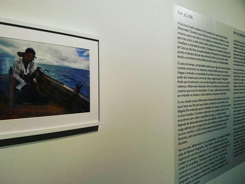 Muy recomendable la exposición de fotos de @cristinamittermeier en Palexco. #exposición #Photos #cristinamittermeier #mardemares #festivalmardemares #Coruña #recommended