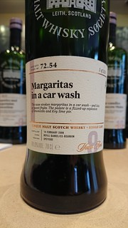 SMWS 72.54 - Margaritas in a car wash