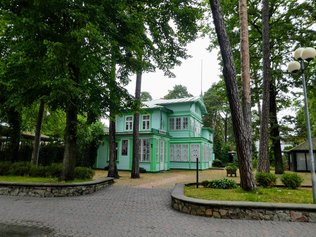 Elegant villas in Majori, Latvia