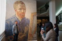 A Photo-Op With Van Gogh