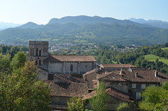 A medieval village in the Pyrenees
