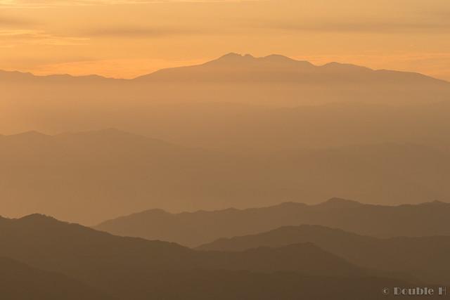 Shinhotaka Ropeway 2017.10.27 (35) distant view of Mount Haku (Haku-san)