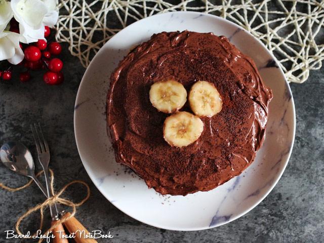 香蕉摩卡巧克力蛋糕 banana-mocha-chocolate-cake-mocha-frosting (8)