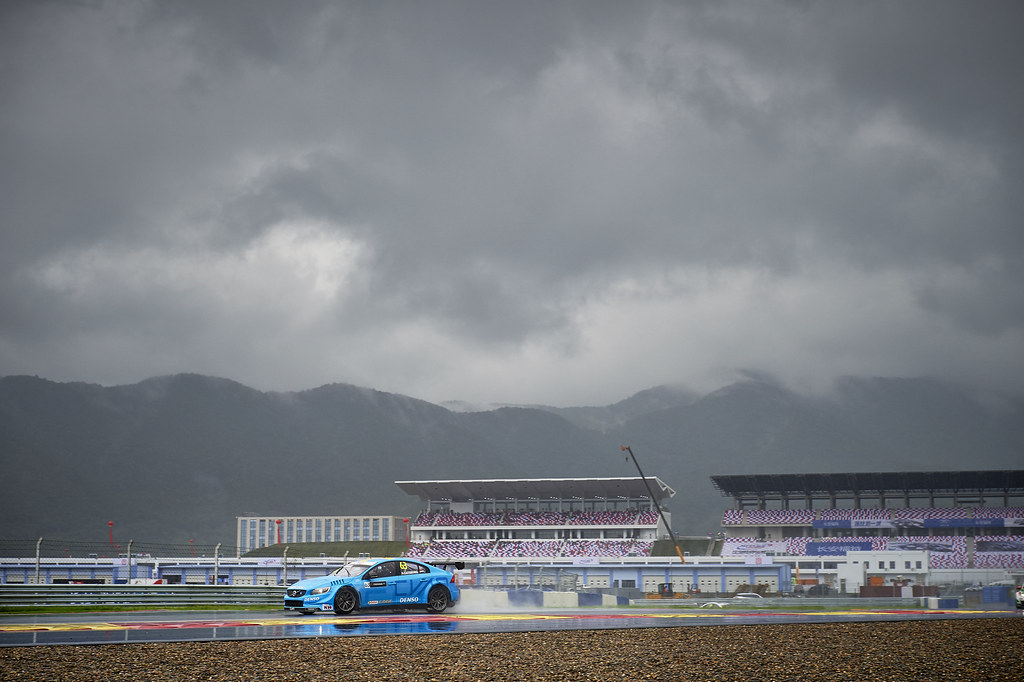 during the 2017 FIA WTCC World Touring Car Championship at Shanghai, China, September 13 to 15 - Photo David Noels / DPPI Thed Bjork, Volvo S60