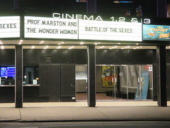 Professor Marston and The Wonder Women Marquee 2017 NYC 2329