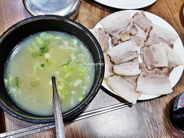 Dwaeji Gukbap / Pork Soup And Rice Premium Measly