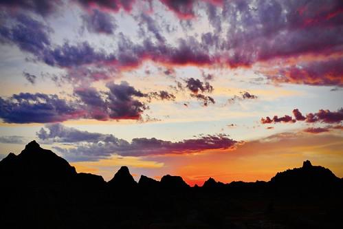 badlands evening sunset sundown outdoor nationalpark southdakota plains panasonic fz1000