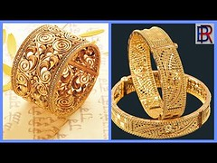 Latest Gold Bangles Designs With Weight