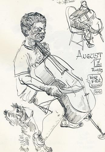 Sketchbook #107: Everyday Life - Cello