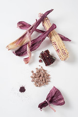 Black glutinous corn components