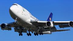 Saudi Cargo Airlines Boeing B747-4F TC-ACG