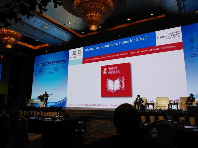 UNESCO 2017 Foro Internacional en TIC y Educación 2030