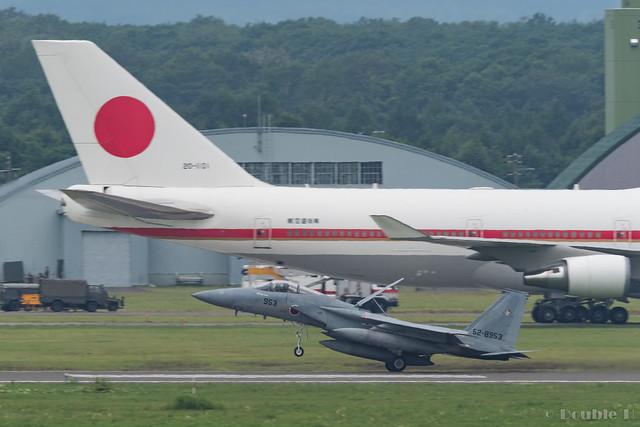 JASDF Chitose AB Airshow 2017 (42) 201SQ F-15J #953