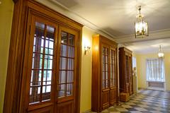 Interior of Peterhof Palace in St Petersburg, Russia