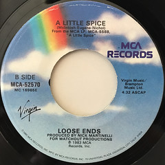 LOOSE ENDS:HANGIN' ON ASTRING(LABEL SIDE-B)
