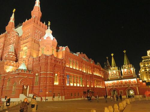 le Kremlin la nuit