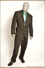 John Quinlan - Suit by Calvin Klein