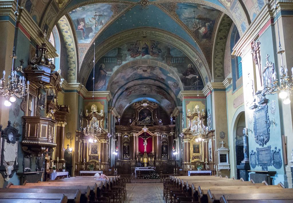 Église du monastère de Saint-Kazimierz – Cracovie (Voïvodie de Petite-Pologne)