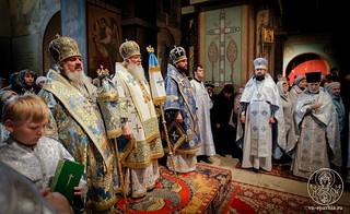 Литургия в Софийском соборе 350