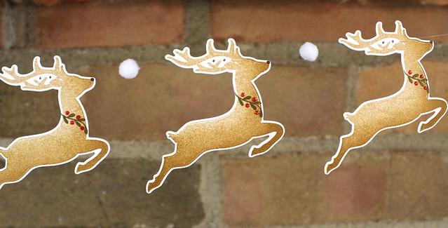 Reindeer Garland 4