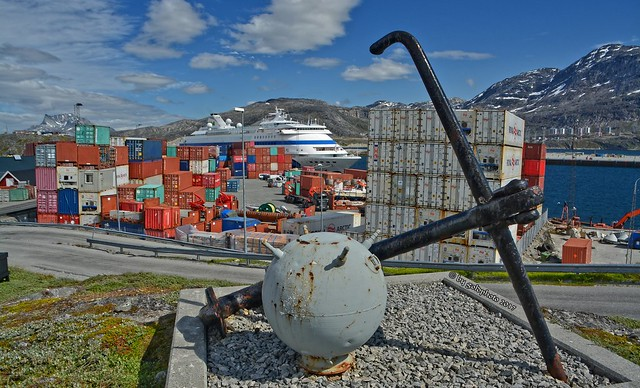 Nuuk / Grönland - Hafen