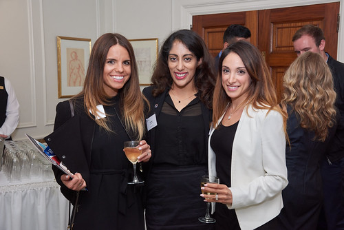 Alumni reception in Toronto