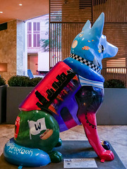 "K9s for Cops Public Art Campaign - ""Chicago Doggo"" by Alexys Fleming - Madeyewlook"
