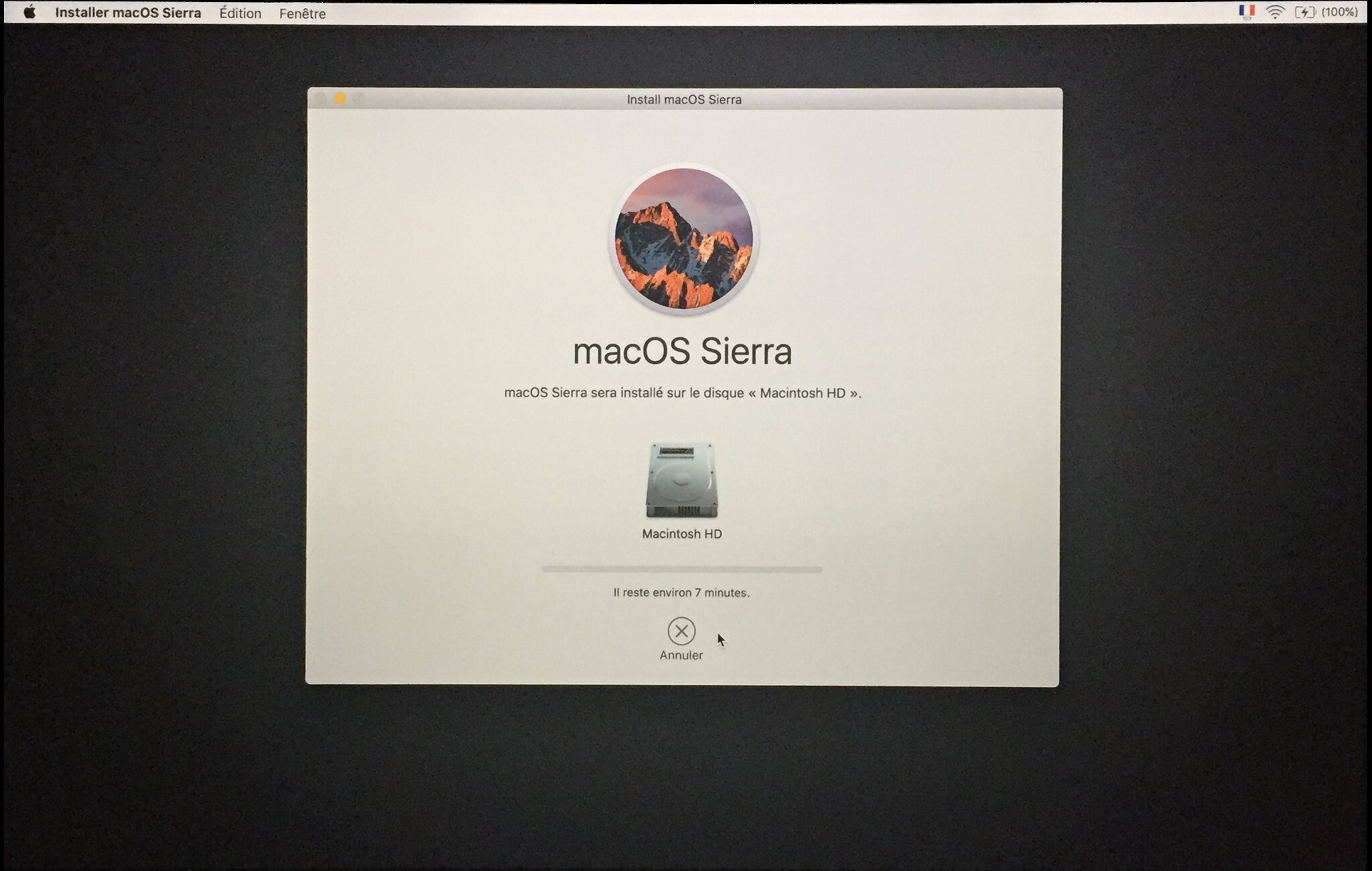 Installation mac OS Etape 00012
