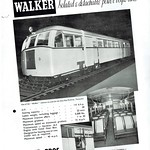 Sat, 2017-10-14 20:13 - An interesting advert in that both the manufacturing company and the operating company had quite fascinating histories in their own right! Walker's of Wigan became an engineering company with quite a broad span of operations that at times included both road and rail vehicles. The railcars seen here were part of a number constructed in both the pre- and post-WW2 period that went to a small number of operators who were looking to introduce more economic ways of running. The Emu Bay Railway had one of the more complex histories of any Australian railway as far as I can see! They bought a one double double bogie railcar from Walkers in 1940 so the advert's claim for 'one of the ' seems a bit hopeful!