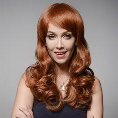 Big Wave Human Hair Curly Long Wigs Virgin Remy Mono Top Capless Wig 8 Colors (1063435) #Banggood