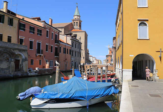 Chioggia is a quiet island with Venezian atmosphere