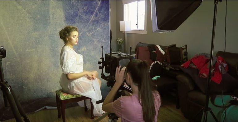 Irene Rudnyk partage sa première expérience avec un appareil photo grand format
