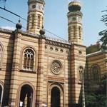 Grande synagogue, Erzsébetváros, 7e arrondissement, Budapest, Hongrie.
