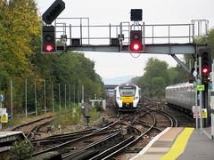 Thameslink Unit 700020 Approaching Three Bridges Station.