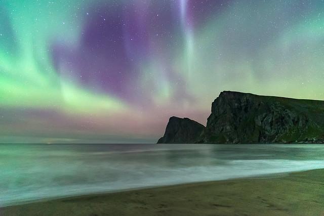 'Silken Skies' - Kvalvika, Lofoten Islands