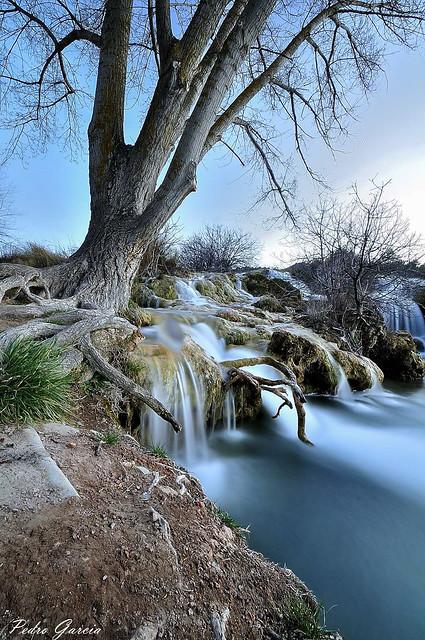 Waterfall Ruidera , Laguna Salvadora