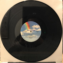 THELMA HOUSTON:YOU USED TO HOLD ME SO TIGHT(RECORD SIDE-B)