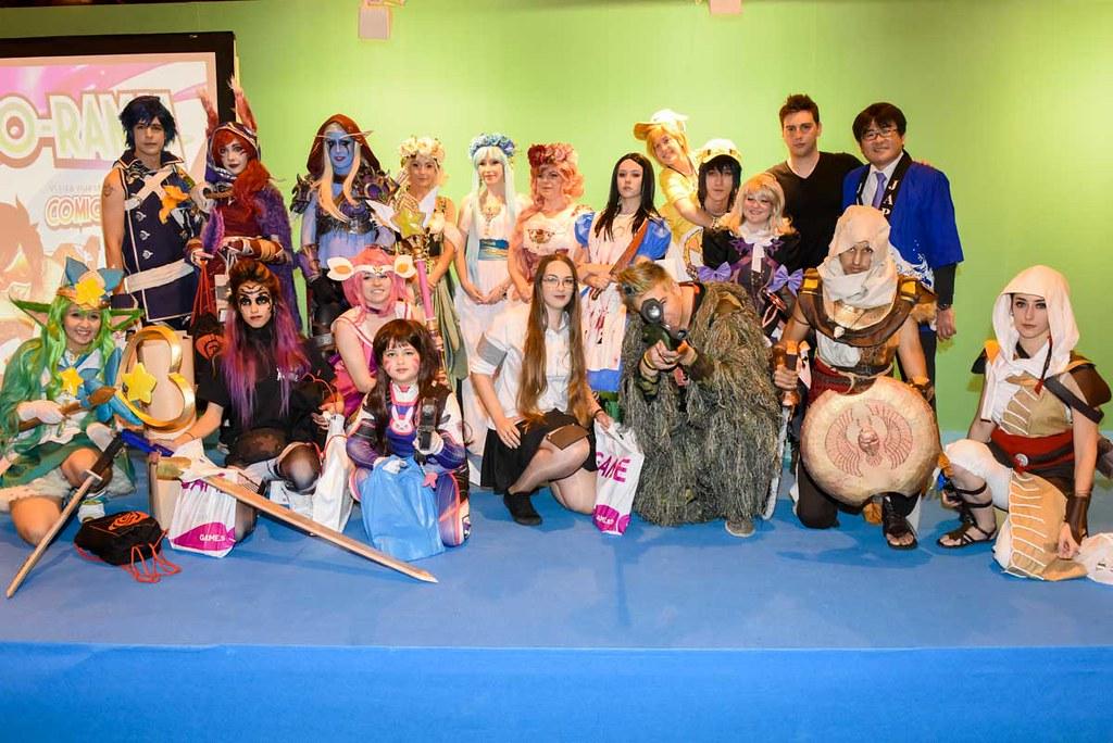 Comic-o-rama, un espacio donde se pudo disfrutar de cosplays