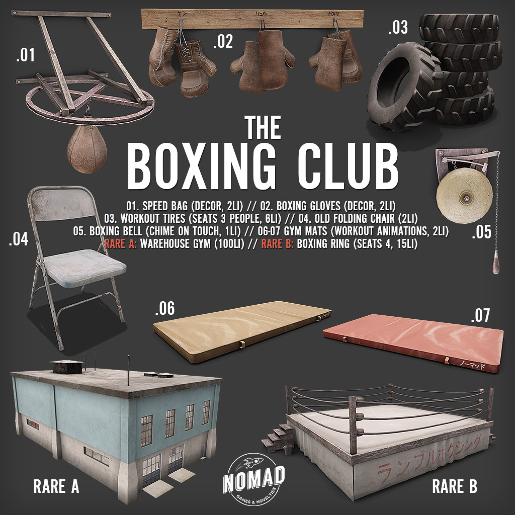 NOMAD // The Boxing Club Gacha Key