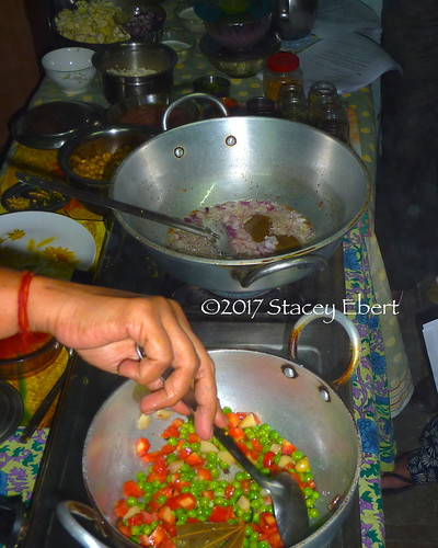 Taking an Indian cooking class from a local family in Jaipur, India. From Through the Eyes of an Educator: Eyes Wide Open