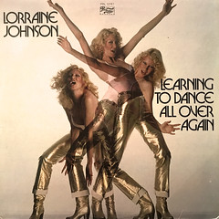 LORRAINE JOHNSON:LEARNING TO DANCE ALL OVER AGAIN(JACKET A)
