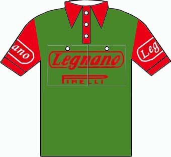 Legnano - Giro d'Italia 1954