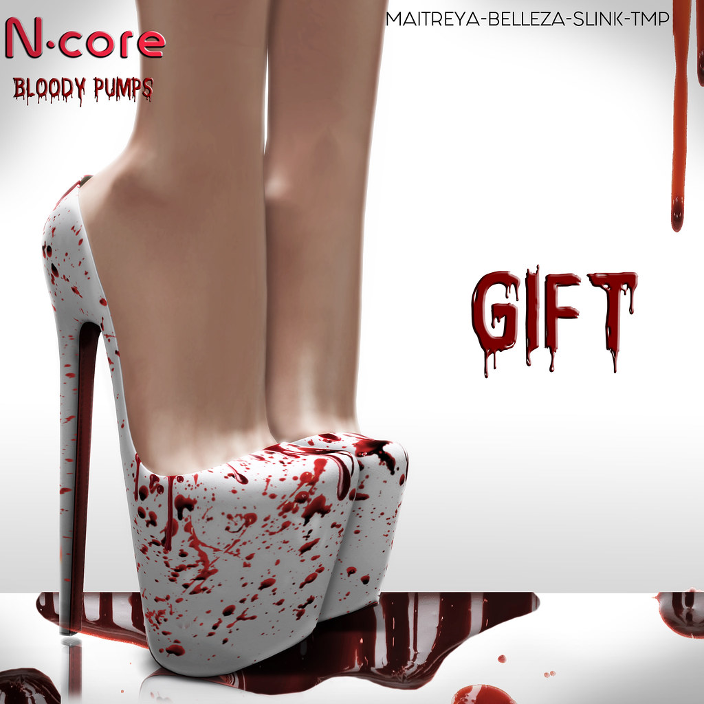 "N-core ""Bloody Pumps"" @ Kustom9 (GIFT!)"