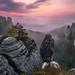Bastei Sunrise II by Alexander Lauterbach Photography