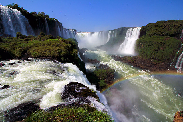 One of the natural wonders of the world - Iguazu Falls